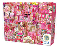 Cobble Hill: The Rainbow Project (Pink) - 1000pc Puzzle