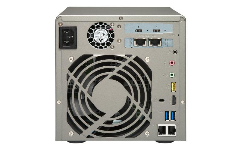 """QNAP TVS-882ST3-i7-16G NAS,2.5""""x8BAY(NO DISK),16GB,I7-6700HQ,T3(2),10GBASE-T(2),TWR,2YR image"""