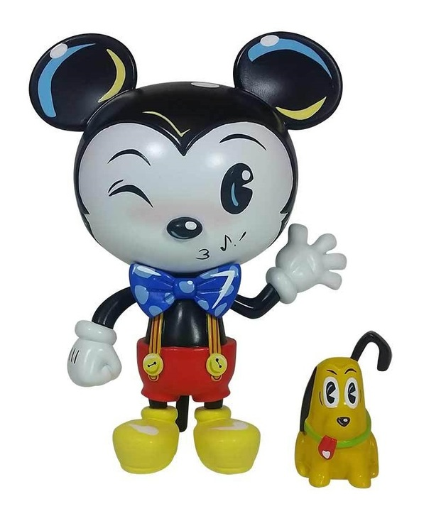"The World of Miss Mindy: Mickey Mouse - 7"" Vinyl Figure"
