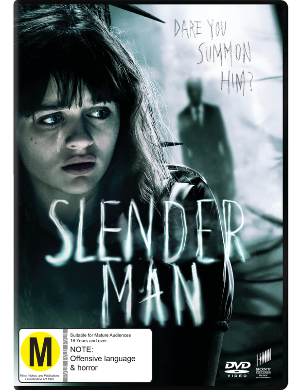 Slender Man on DVD