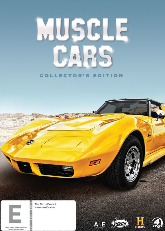 Muscle Cars on DVD
