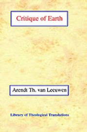 Critique of Earth by Arend Theodoor van Leeuwen image