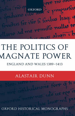 The Politics of Magnate Power by Alastair Dunn image