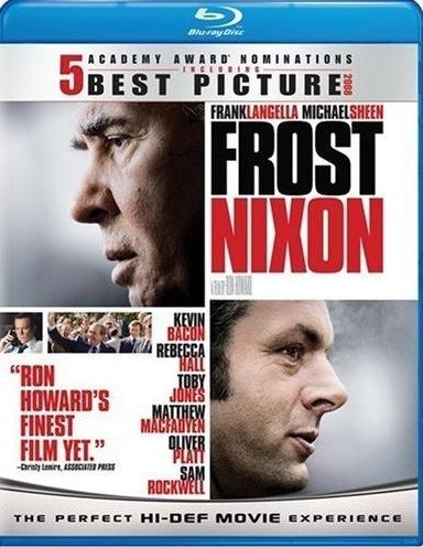 Frost/Nixon on Blu-ray