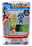 XY Pokémon Figures - 2 Pack - Chespin vs Riolu