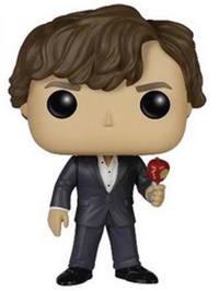 Sherlock Holmes (With Apple) Pop! Vinyl Figure