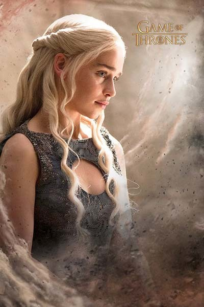 Game Of Thrones Wall Poster - Daenarys (438)
