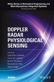 Doppler Radar Physiological Sensing by Olga Boric-Lubecke