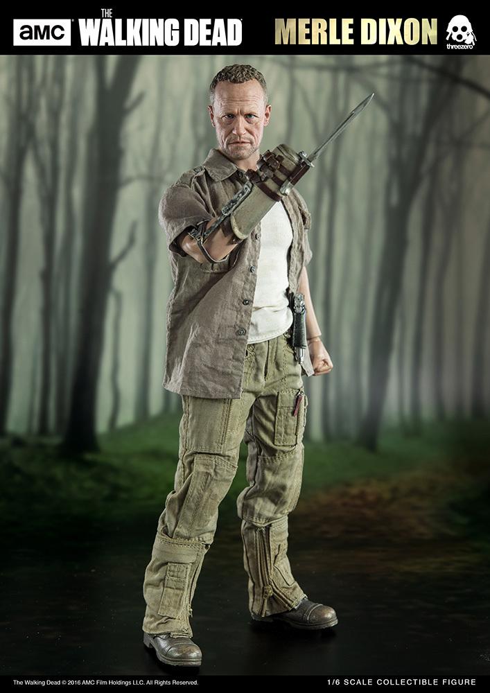 "The Walking Dead: 12"" Merle Dixon - Action Figure image"