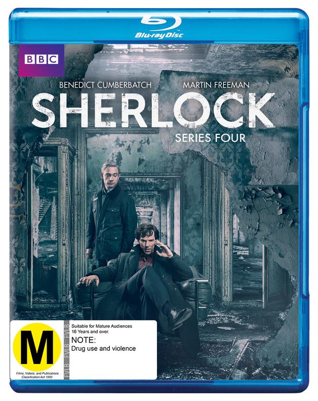 Sherlock - Series Four on Blu-ray