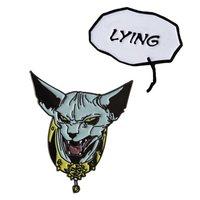 Saga - Lying Cat Pin Set