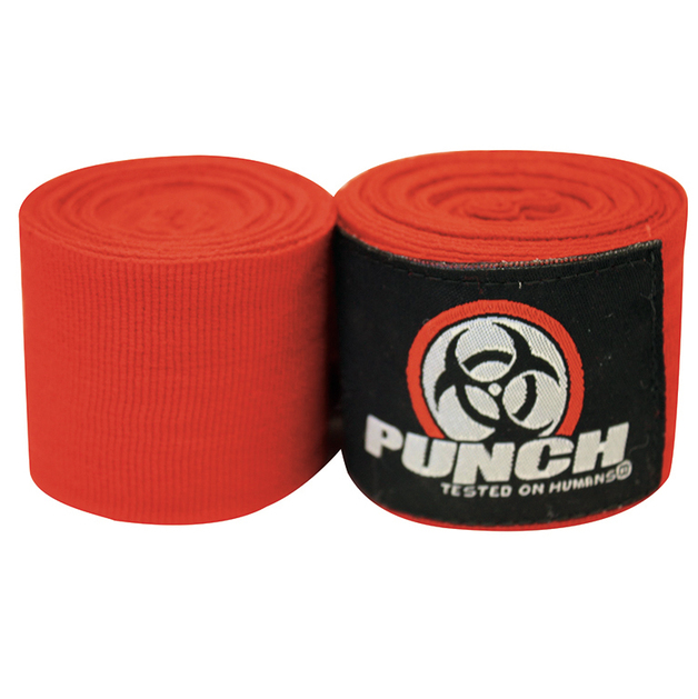 Punch: Urban Hand Wraps - 400cm (Red)