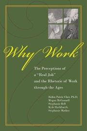 Why Work by Robin Patric Clair image