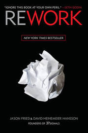 Rework by Jason Fried image