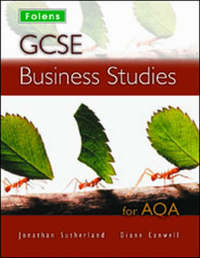 GCSE Business Studies: Student Book - AQA by Jon Sutherland image