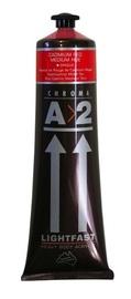 Chroma: A2 Lightfast - Heavy Body Acrylic Paint - Cadmium Medium Red (120ml)