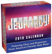Jeopardy! 2019 Day-To-Day Calendar by Sony