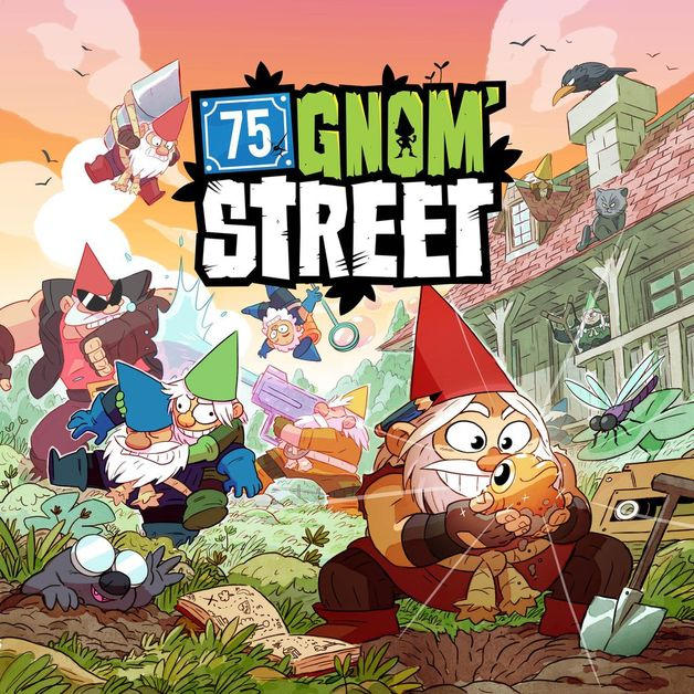 75 Gnom' Street - Board Game