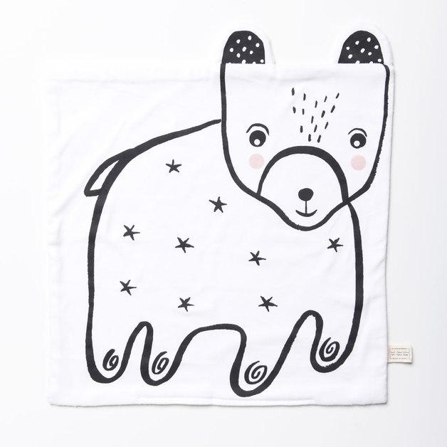Wee Gallery: Organic Snuggle Blanket - Bear