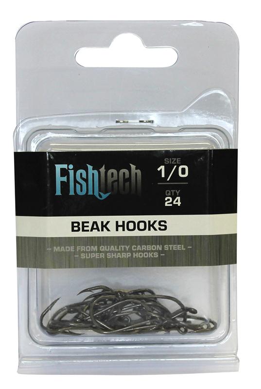 Fishtech Beak Hooks 1/0 (24 per pack)
