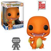 "Pokemon: Charmander – 10"" Super Sized Pop! Vinyl Figure image"