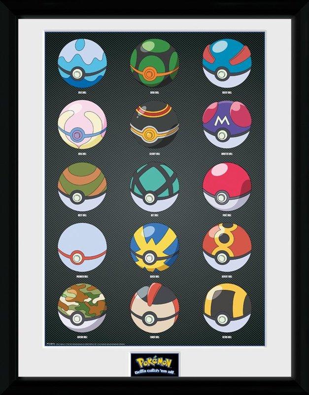 Pokemon: Pokeballs - Collector Print (41x30.5cm)