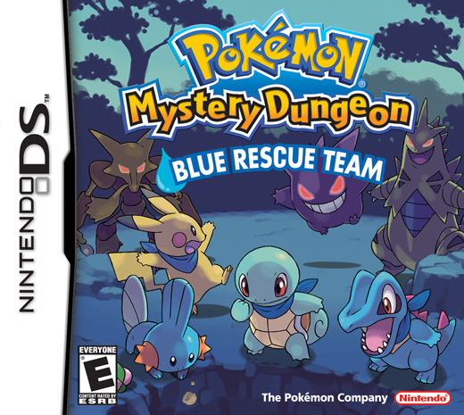 Pokemon Mystery Dungeon: Blue Rescue Team for DS