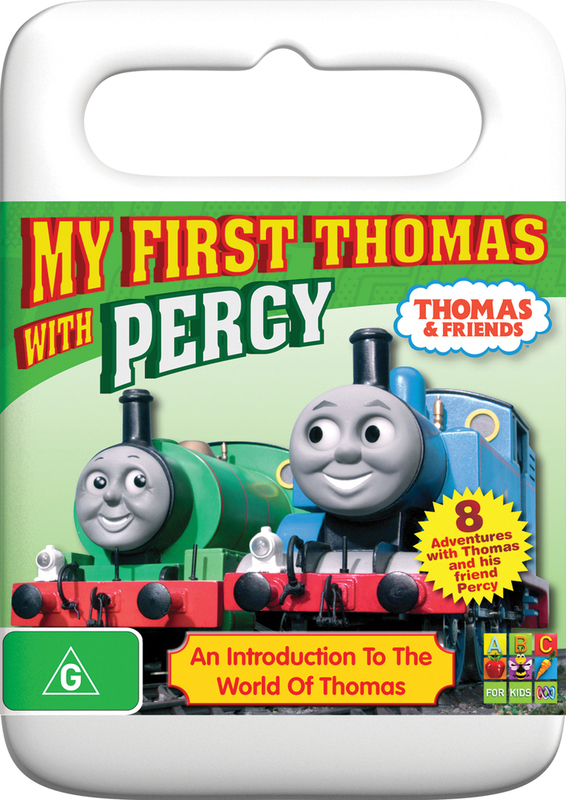 Thomas And Friends My First Thomas With Percy Dvd Buy Now At Mighty Ape Nz