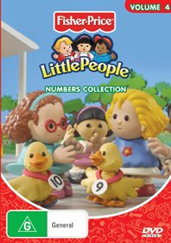 Little People - Vol. 4: Numbers Collection on DVD