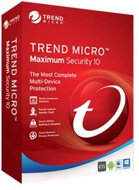 Trend Micro: Maximum Security 10 - 4 Users 1 Year Multi-Device