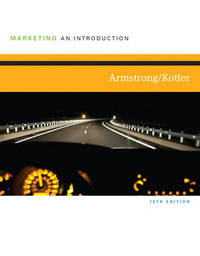 Marketing: An Introduction by Gary Armstrong image