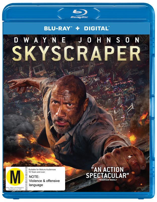 Skyscraper on Blu-ray