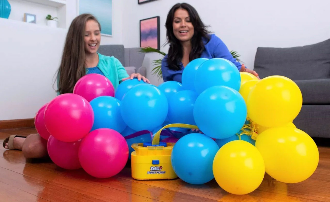 Bunch O' Balloons: Self Sealing Party Balloons - (24 x Blue) image