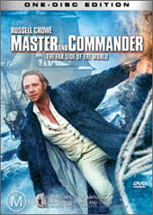 Master And Commander: The Far Side of the World (One Disc) on DVD