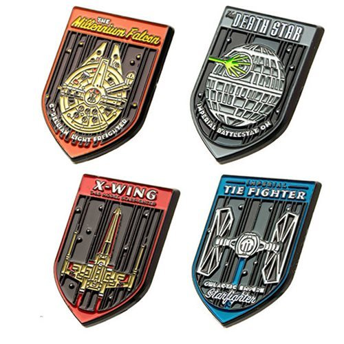 Star Wars: Starfighters - Enamel Pin Set