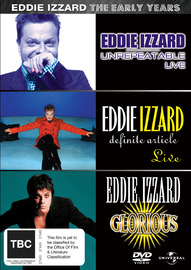 Eddie Izzard - Early Years on DVD