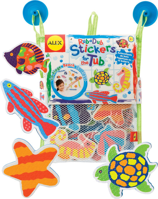 Alex: Beach Stickers For The Tub image