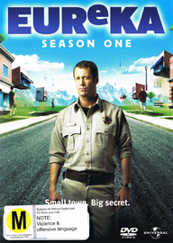 Eureka - Season 1 (3 Disc Set) on DVD
