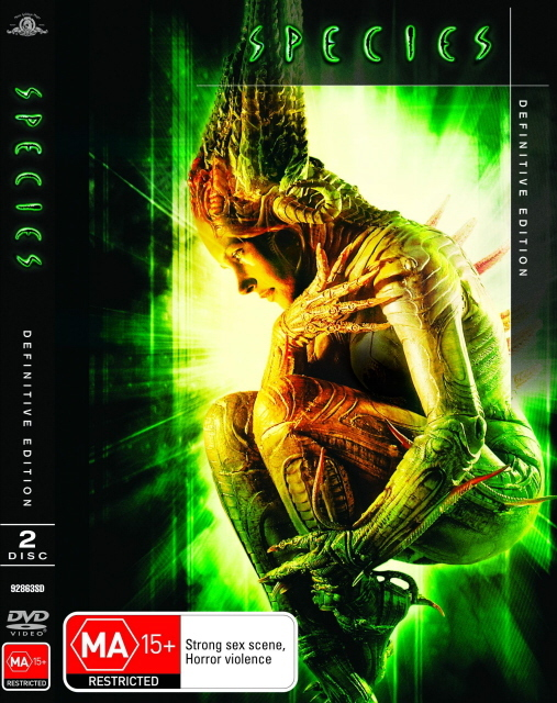 Species - Definitive Edition (2 Disc Set) on DVD