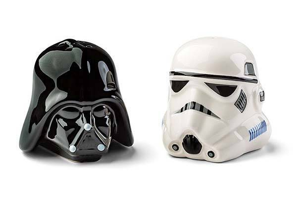 Star Wars Darth Vader and Stormtrooper Salt and Pepper Shakers image