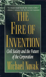The Fire of Invention by Michael Novak image