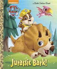 Jurassic Bark! (Paw Patrol) by Hollis James image
