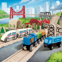 Hape: Double Loop Railway Set image