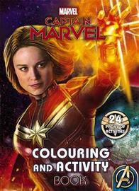 Marvel: Captain Marvel Colouring and Activity Book