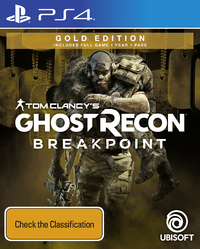 Tom Clancy's Ghost Recon Breakpoint Gold Edition for PS4 image