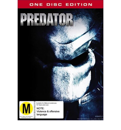 Predator on DVD