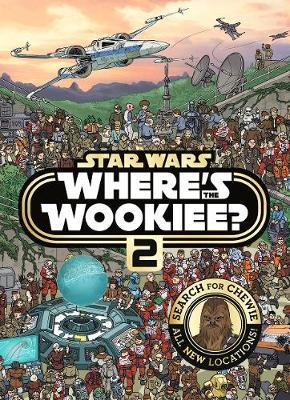 Star Wars: Where's the Wookiee 2? Search and Find Activity Book by LucasFilm