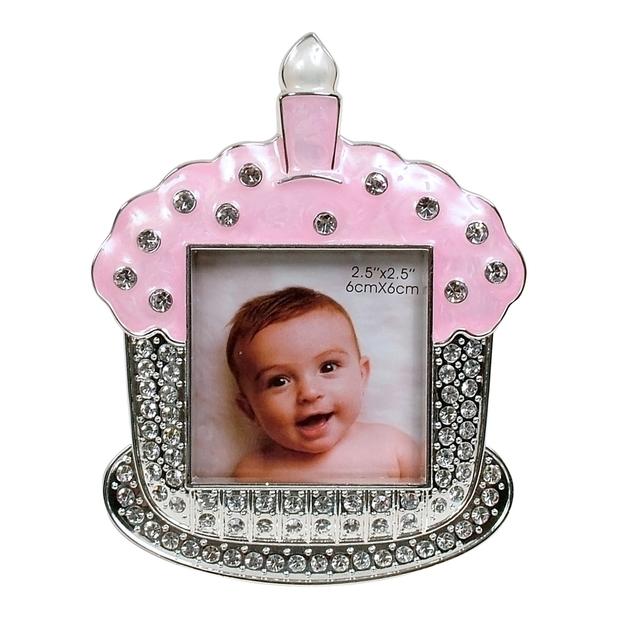Dakota Baby Cupcake Frame - Pink
