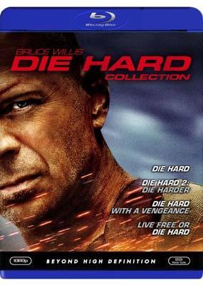 Die Hard Quadrilogy (4 Disc Set) on Blu-ray