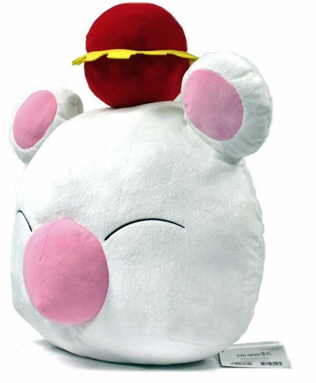 "Final Fantasy Large 17.5"" Cushion - Moogle Mascot"